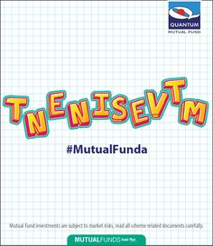 Here's a little challenge for all your Mutual Fund maestros. Unjumble the word and give us your answer in the comment section below. #MutualFunda