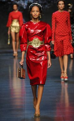 All the latest from Milan Fashion Week, from Jodie Kidd's catwalk comeback to Dolce & Gabbana's golden girls. Peplum Dress, Dress Up, All Fashion, Milan Fashion, Fashion Weeks, Spring Summer, Summer 2014, Spring 2014, Dressed To Kill