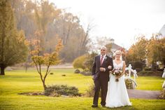 Fall colors at the Brandywine Manor House for Jeff and Amanda's wedding Lake View, Beautiful Gardens, Photo Credit, Amanda, Pergola, In This Moment, Wedding Dresses, Photography, Color