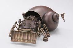 Супер удар: биомеханические скульптуры Шибата Нозому