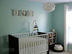 Project Nursery - nursery - crib wall with watermark