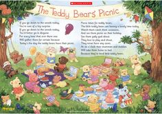 teddy bear picnic poster to download