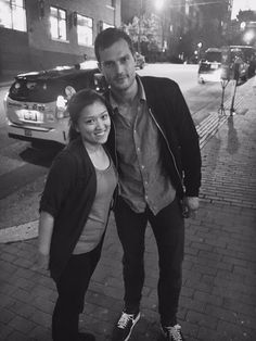 Jamie Dornan Life: New Fan Picture of Jamie in Vancouver (June 20)