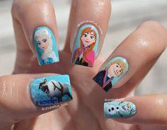 Frozen nails!