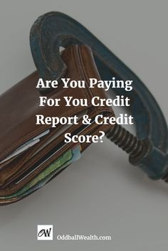 Are You Paying For You Credit Report and Credit Score? Find Out How I Get My Credit Report, Score, Rating, Protection and Credit Monitoring All for FREE! Learn how to get your free credit report and free credit score in minutes, anytime. You'll also learn how to get free identity protection and free credit monitoring and alerts. Read this article to find out how! Url: http://oddballwealth.com/get-free-credit-report-credit-score-protection-monitoring/ #Credit #Finance #CreditReport…