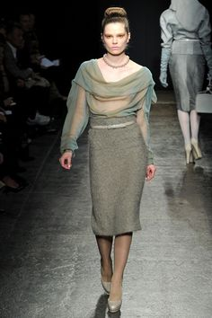 Fall Winter 2011/2012 Ready-To-Wear - New York // Donna Karan Collection