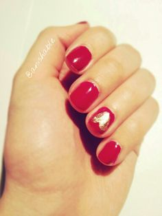 Easy and cute nail design for short nails