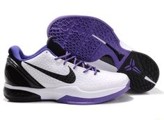 newest a8491 dc287 Nike Zoom Kobe VI Mens Basketball Shoe White Purple Black whoooooo I love  these