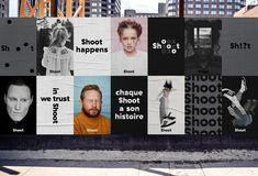 Agency – Identity for Shoot Studio Graphisches Design, Logo Design Trends, Identity Design, Visual Identity, Brand Identity, Design Styles, Store Design, Design Ideas, Packaging Design Inspiration