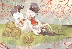 2008 Selection of Illustrations by Chelsea Greene Lewyta, via Behance