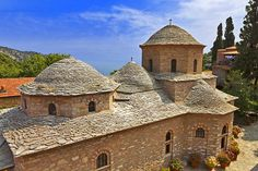 Chapel at the Evangelistria Monastery | The other side to #Skiathos, #Greece | Weather2Travel.com #travel #summer