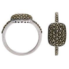 Pillowish Ring, Oxidiertes Silber, Dyrberg/Kern