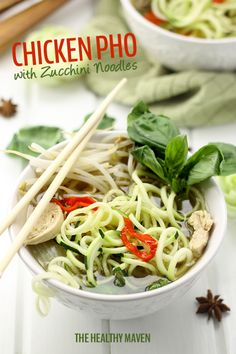 Chicken Pho Zoodles