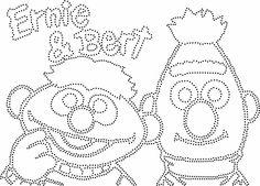 Ernie en Bert ongevuld