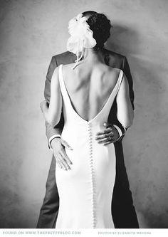 Vestidos de novia espalda espectacular -  - París Berlín Wedding Planners