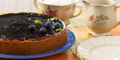 Mustikka-juustokakku - Saarioinen Cheesecake, Pudding, Baking, Desserts, Food, Tailgate Desserts, Deserts, Cheesecakes, Custard Pudding