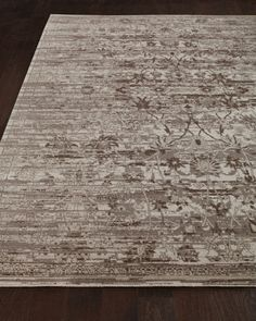 "Dovetail Rug, 5'6"" x 8', Gray"