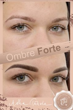 Ombre Forte Eyebrow Tattoo <3