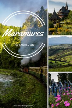 This guide includes top 5 places to visit in Maramures, Romania: The Merry Cemetery, Barsana Monastery, Vadul Izei, Mocanita Steam Train and Maramures Countryside. Travel Around Europe, Europe Travel Tips, European Travel, Travel Around The World, Around The Worlds, Traveling Europe, Travelling, Romania Travel, Hungary Travel