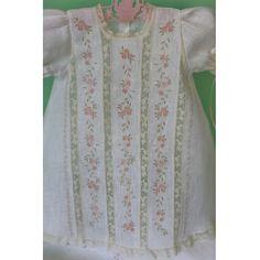 Taty - Bebé Primor   Ropa para niños y niñas   Puerto Rico $220  Machine embroidery but very beautiful.