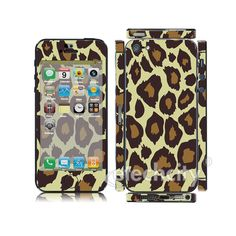 Animal pattern Skin Cover Screen Protector for Apple iPhone 5 (Style 2) [CCSK-PHVPL18] - $12.00 : Leopard 3