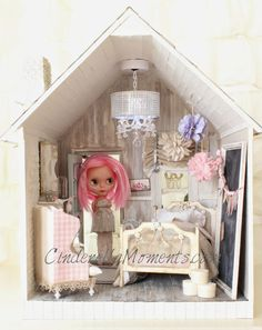 Cinderella Moments Blythe dollhouse custom