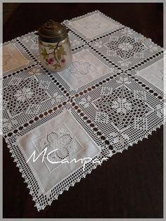 Crochet Lace Edging, Crochet Squares, Filet Crochet, Crochet Baby, Knit Crochet, Crochet Star Stitch, Crochet Stitches, Crochet Crafts, Crochet Projects
