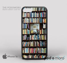 Bookself Credit for iPhone 4/4S, iPhone 5/5S, iPhone 5c, iPhone 6, iPhone 6 Plus, iPod 4, iPod 5, Samsung Galaxy S3, Galaxy S4, Galaxy S5, Galaxy S6, Samsung Galaxy Note 3, Galaxy Note 4, Phone Case