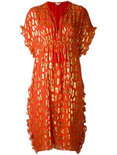 Shop Manoush flared printed dress .