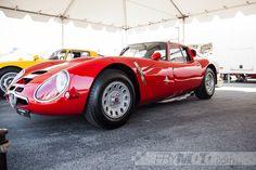 Alfa Romeo 33 Stradale in the paddock at Laguna Seca by FryMoto on Etsy