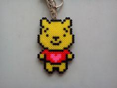 Winnie Pooh hama mini beads by JeanSmart