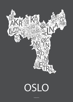 Plakat Oslo
