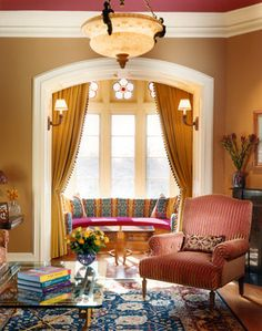 Living rooms - traditional - living room - new york - by Lauren Ostrow Interior Design, Inc
