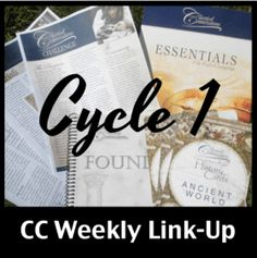Plans, resources, and ideas for Classical Conversations CC Cycle 1 Week 1.