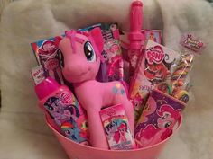 My Little Pony Gift Basket Www.conniescreations.storenvy.com
