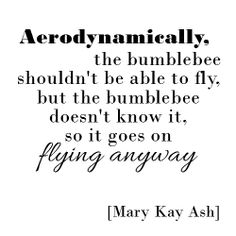 Daily Inspirational Quote // Mary Kay Ash Quote
