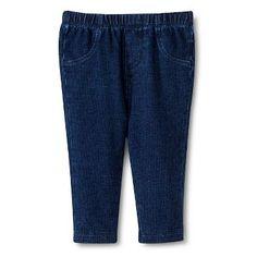 29baeef1db65a Baby Girls' Legging - Dark Blue Circo™ Baby Girl Bottoms, Baby Girl Leggings