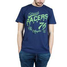 T-Shirt Esprit uomo blu 036EE2K031-E400