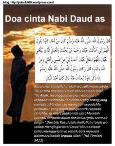 Doa Cinta Nabi Daud as Islamic Dua, Islamic Quotes, Quran Quotes Inspirational, Motivational Quotes, Doa Islam, Love In Islam, Learn Islam, Islamic Messages, Islam Facts