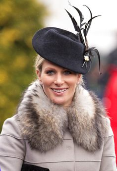 Zara Phillips, March 15, 2013 in Jane Taylor | The Royal Hats Blog