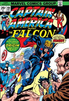 Captain America #180 - The Coming of the Nomad
