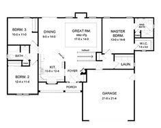 23 Best Small Open Floor House Plans Images On Pinterest House