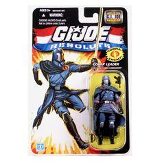 "Amazon.com: G.I. JOE Hasbro 3 3/4"" Wave 13 Action Figure Cobra Commander Resolute: Toys & Games"