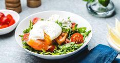Lõhe pošeeritud munaga   Santa Maria retsept Santa Maria, Eggs, Breakfast, Ethnic Recipes, Food, Holy Mary, Meal, Egg, Essen