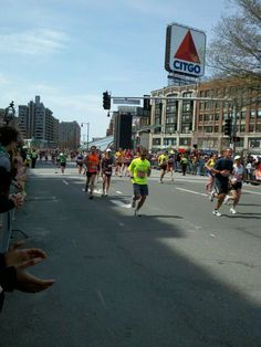 Boston Marathon.