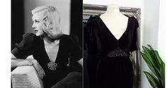 1940s Fashion Dresses, 1940s Dresses, Vintage Dresses, Black Satin Dress, Satin Dresses, Silk Dress, 1940s Looks, Bias Cut Dress, Pin Up Dresses