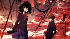 Mei Misaki & Kouichi Sakakibara - Another,Anime