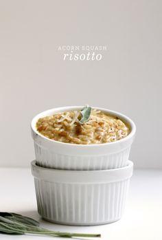 acorn squash risotto. mmm