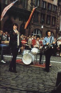 The Doors in Frankfurt , Germany, 1968.