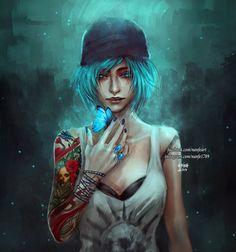 Life Is Strange ~Chloe~ ❤ Life Is Strange Fanart, Life Is Strange 3, Strange Art, Game Art, Arcadia Bay, Dontnod Entertainment, Princess Cadence, Chloe Price, Tatoo Art
